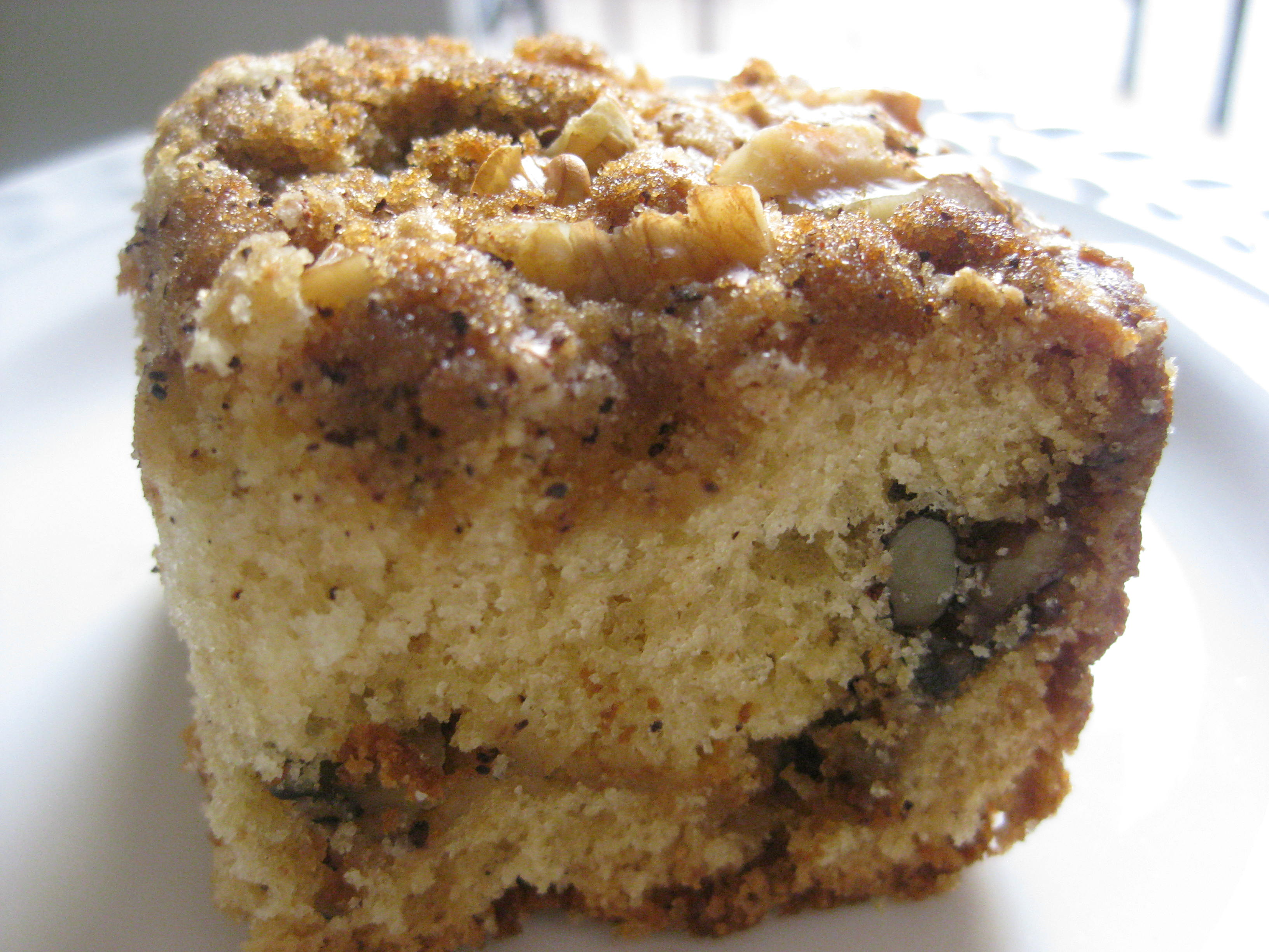 In Good Taste Let Them Eat Cake Sour Cream Coffee Cake